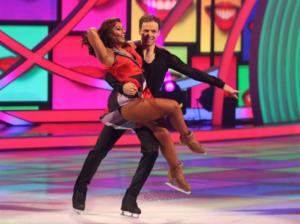 Mark Hanretty and Saira Khan, Dancing on Ice