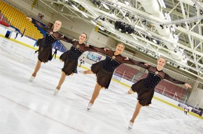 Aberdeen Synchronised Ice Skating Club Photo
