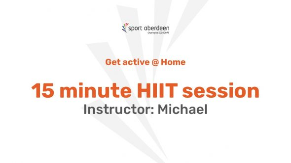 15 minute HIIT with Michael
