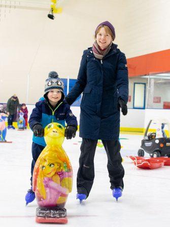 Parent and Toddler Skating