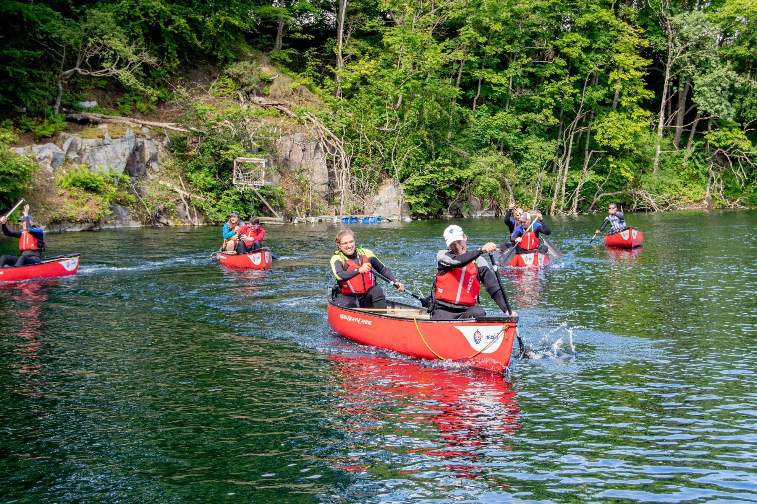 Canoeing @ Rubislaw Quarry
