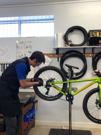 Adventure Aberdeen Bike Workshop
