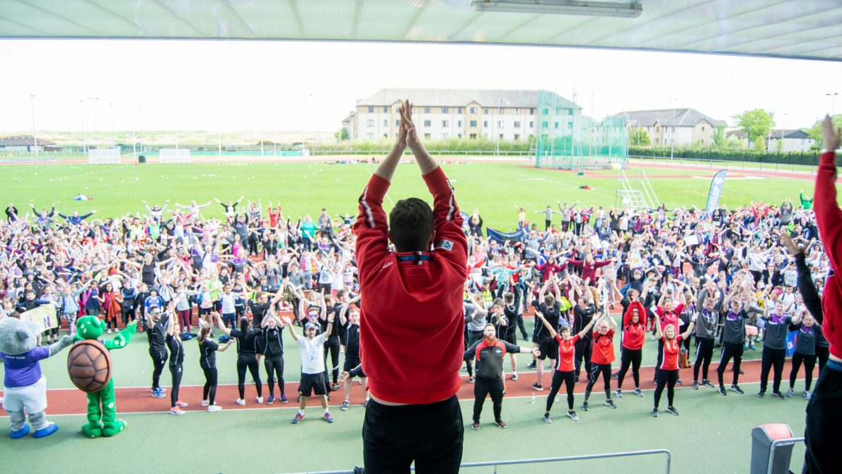 Aberdeen Youth Games Thunder Clap