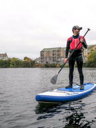 Stand Up Paddleboarding @ Rubislaw Quarry