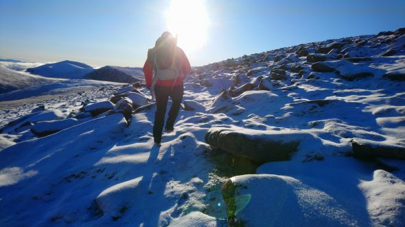 winter hillwalking