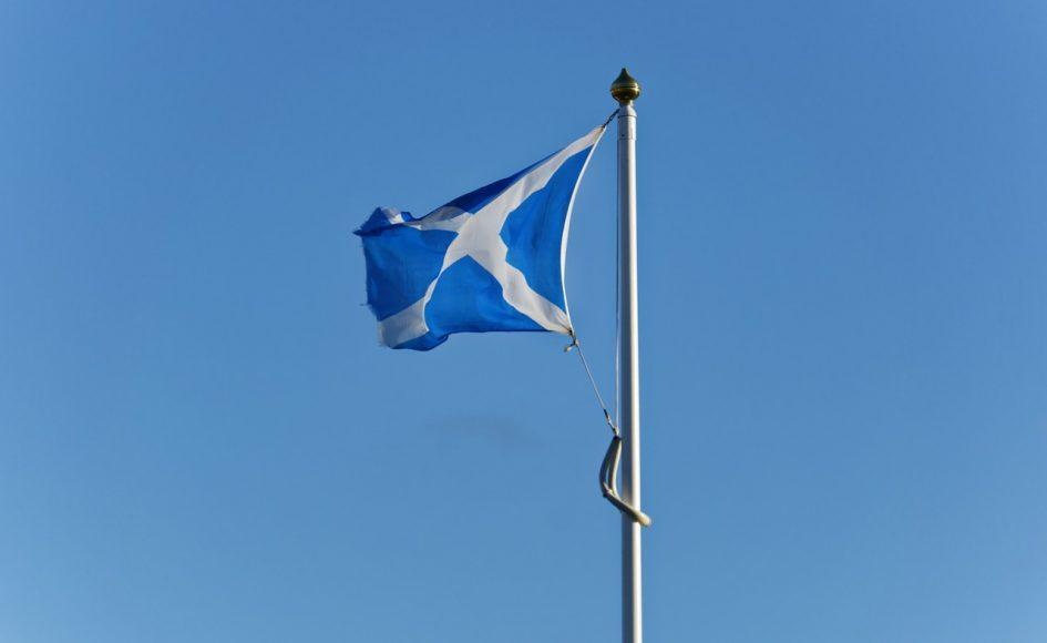 saltire, Scottish flag