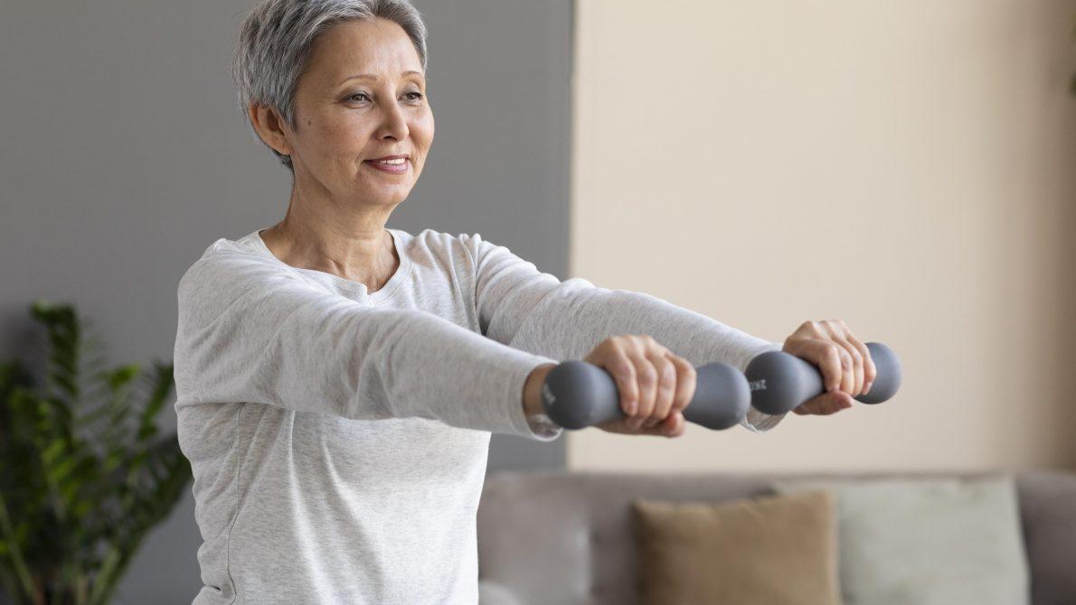 senior-woman-training-home 2 Active Lifestyles