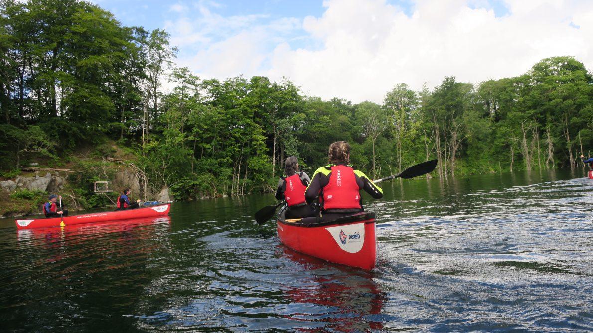 Canoeing @ Rubislaw