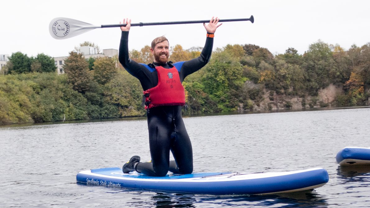 Stand up paddleboarding @ Rubislaw