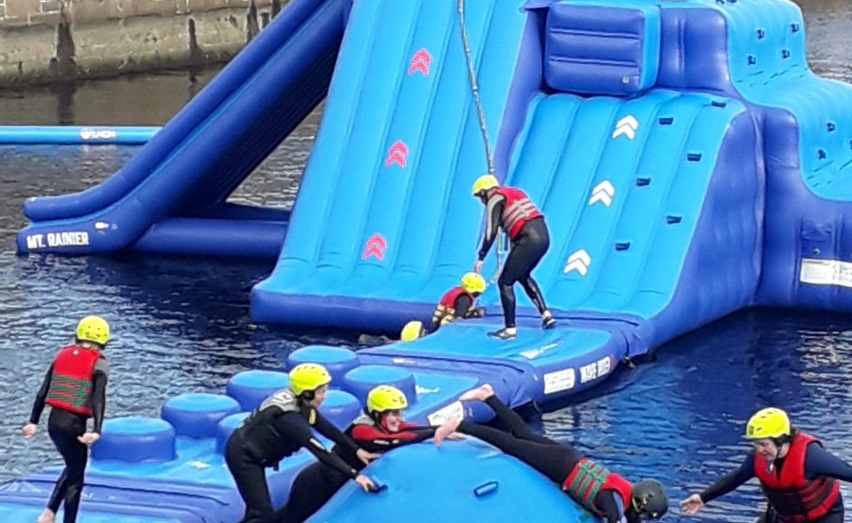 Participants enjoying Foxlake Dundee