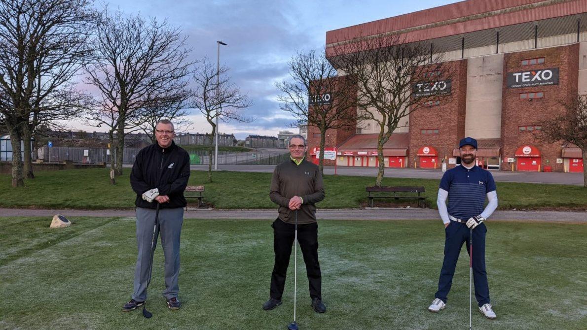 William Pirie, John Wood and Scott Davidson
