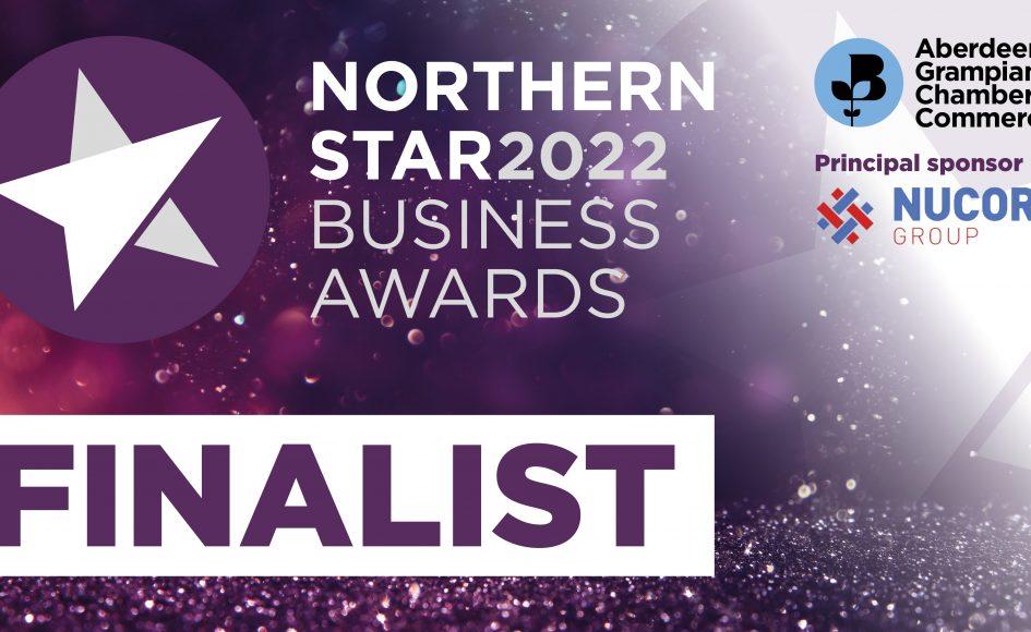 Northern Star Business Awards finalists logo 2022