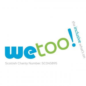 We Too! logo