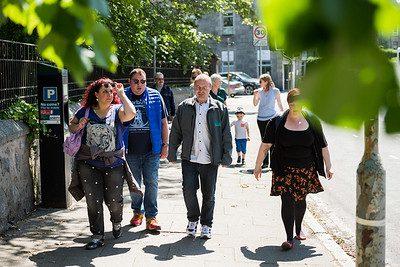 Social walking group